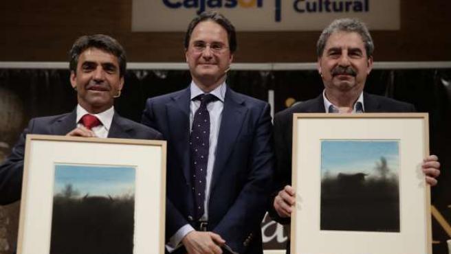 Victorino Martín y Francis Wolff en los 'Mano a Mano' de la Fundación Cajasol