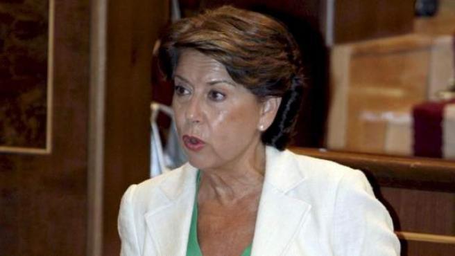 La exministra de Fomento Magdalena Álvarez.