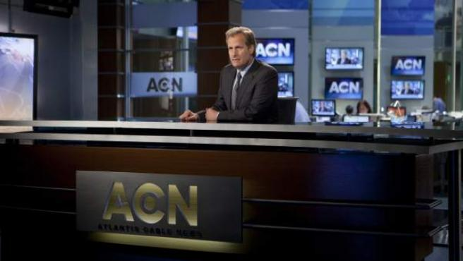 Una imagen de la serie 'The Newsroom'.