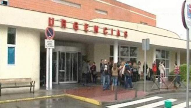 Puerta de Urgencias del Hospital Doce de Octubre.