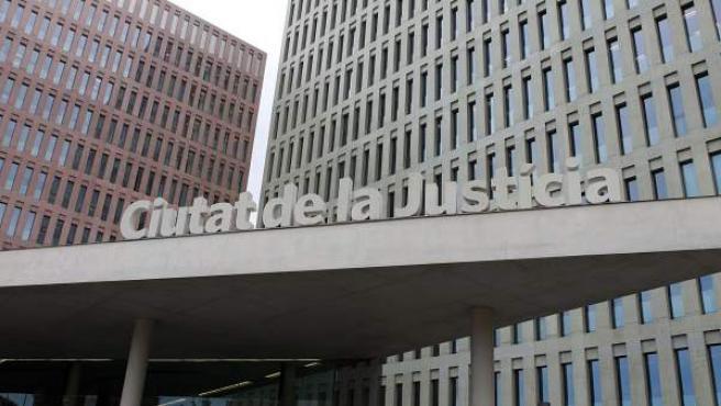 La Ciutat de la Justícia, en Barcelona.