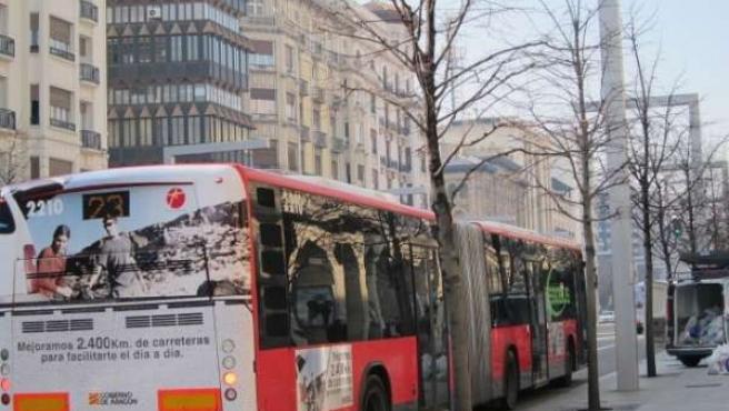Autobús en Independencia