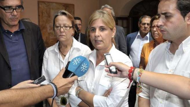 La alcaldesa electa de Jerez, María José García Pelayo (PP)