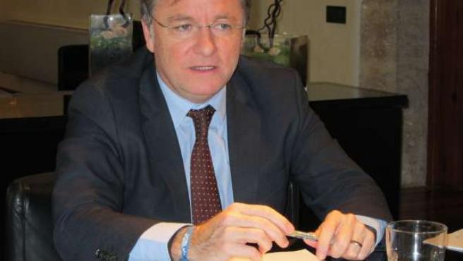 El conseller Juan Carlos Moragues