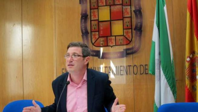 El concejal de Hacienda del Ayuntamiento de Jaén, Miguel Contreras.