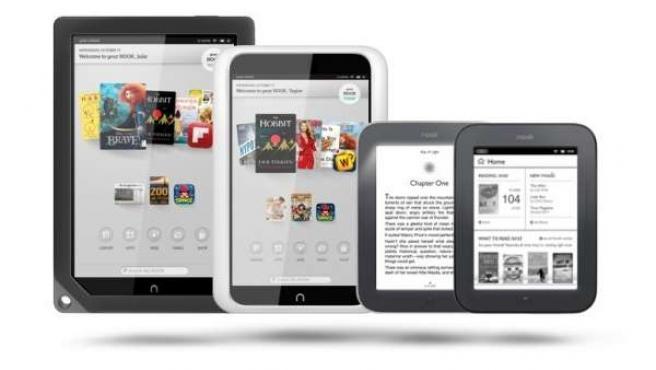 Libros electrónicos ebooks y tablets de Barnes & Noble Nook