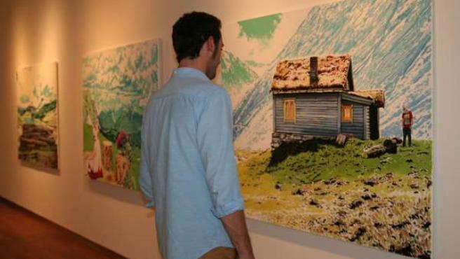 Exposición pinturas arte cultura pictórico fundación unicaja irene sánchez