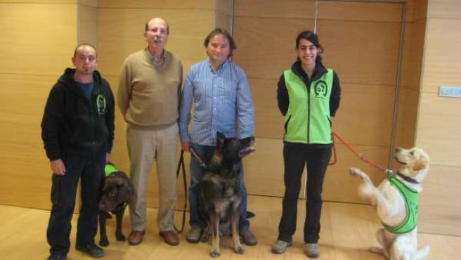 Presentación de la exposición internacional canina Gipuzkoa