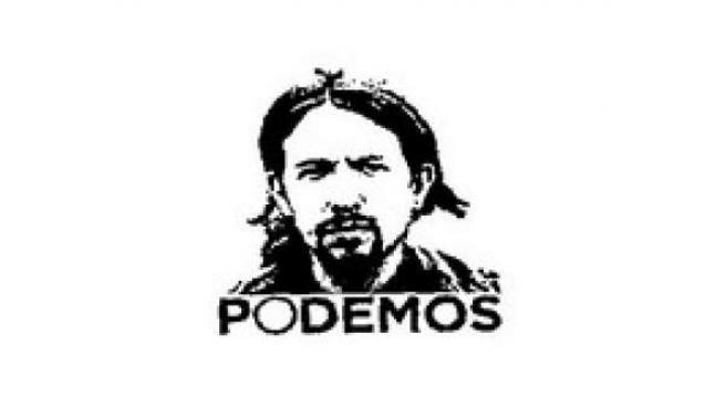Logotipo de Podemos, con la imagen del rostro de Pablo Iglesias.