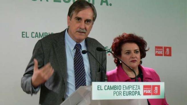 Valeriano Gómez y Teresa Jiménez