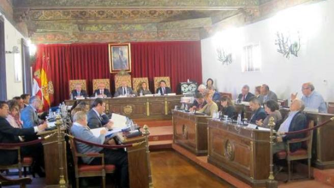 Pleno Diputación de Valladolid mes de abril