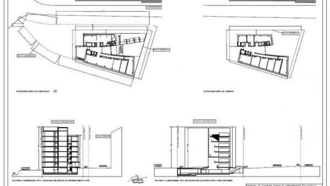 Planos del proyecto del Centro de Emprendedores de Torrelavega