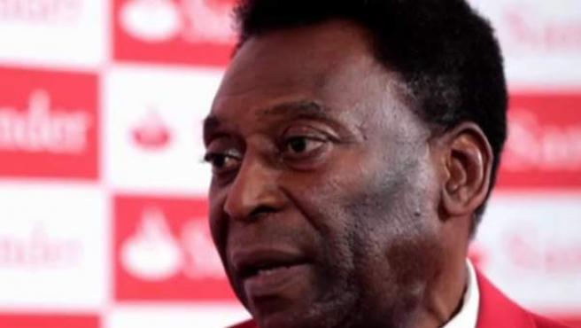 El exfutbolista brasileño Edson Arantes do Nascemento, Pelé.