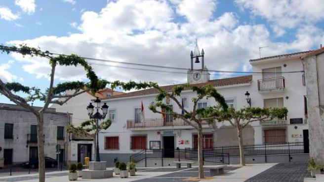 Plaza del ayuntamiento de Carranque (Toledo).