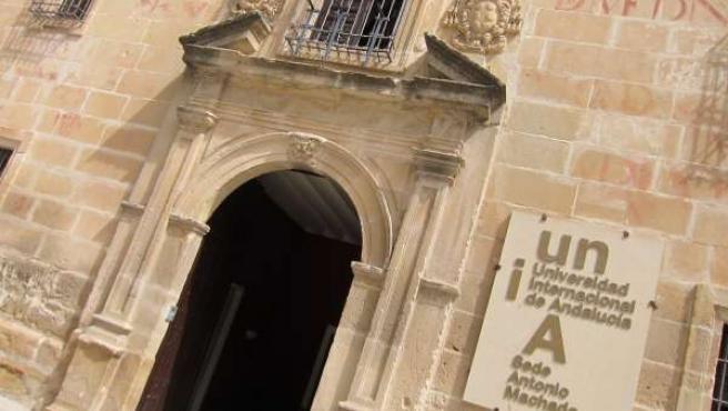 Sede de la UNIA en Baeza
