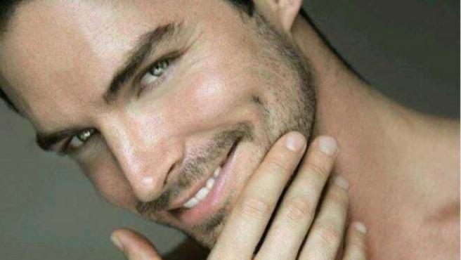 El modelo y actor asturiano Alejandro Corzo.