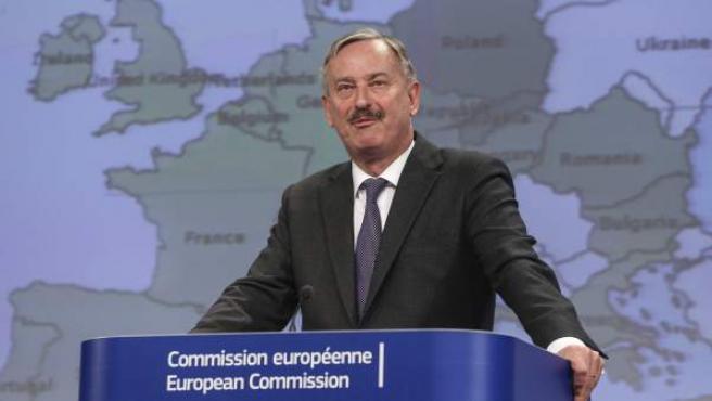 El vicepresidente de la Comisión Europea (CE) y titular en funciones de Asuntos Económicos y Monetarios, Siim Kallas.