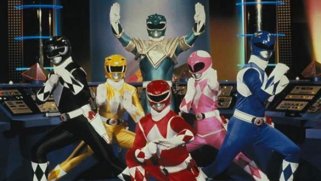 Los 'Power Rangers'.