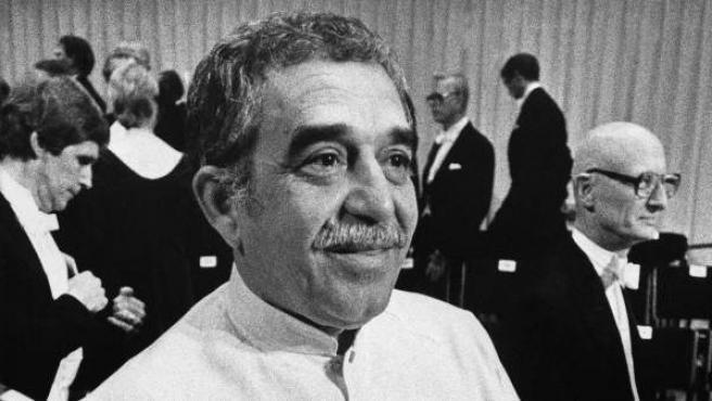 Gabriel García Márquez, el día que recibió el premio Nobel de Literatura, en Estocolmo (Suecia),en 1982.