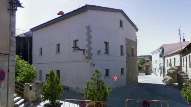 Una calle de la localidad madrileña de Collado Villalba.