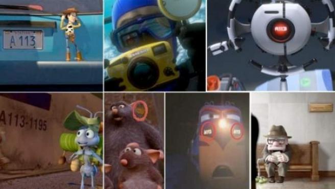 El código A113 puede verse en multitud de célebres películas de animación.