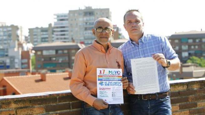 Miguel Ángel de la Cruz y Juan Carlos Bajo, con la denuncia por amenazas a la alcaldesa del municipio abulense de San Bartolomé de Béjar.