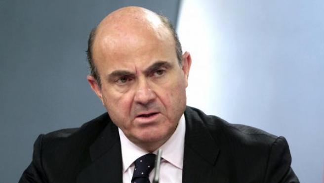 El ministro de Economía, Luís de Guindos.