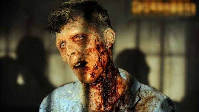 Escena de la tercera temporada de 'The Walking Dead'.