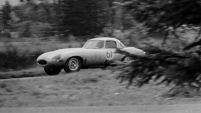 Uno de los modelos del Jaguar E-Type.