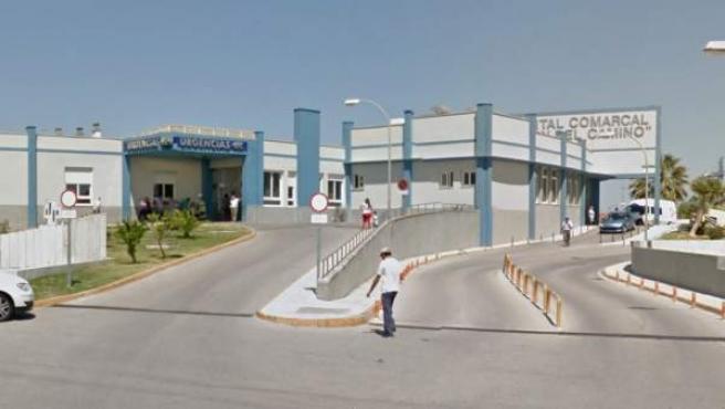 Entrada a las urgencias del Hospital Virgen del Cámino de Sanlúcar de Barrameda (Cádiz).