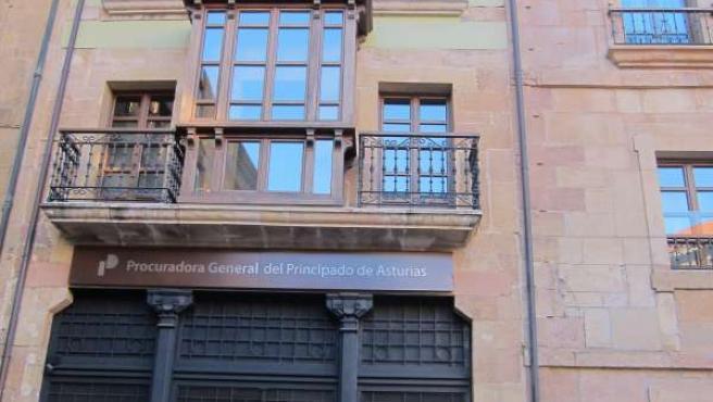 Antigua sede de la Procuradora General del Principado