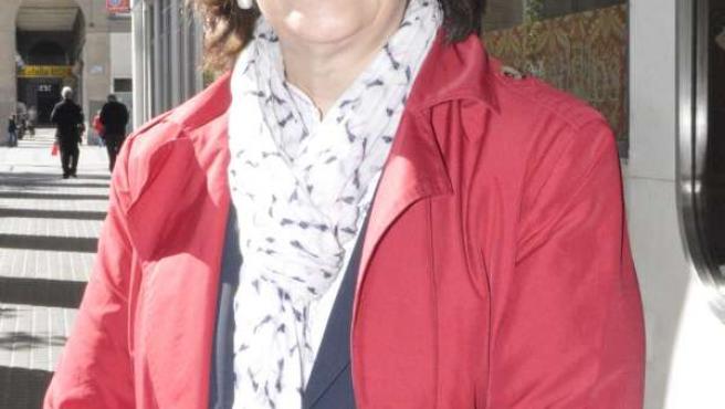La candidata del PSOE en las elecciones europeas, Inés Ayala.