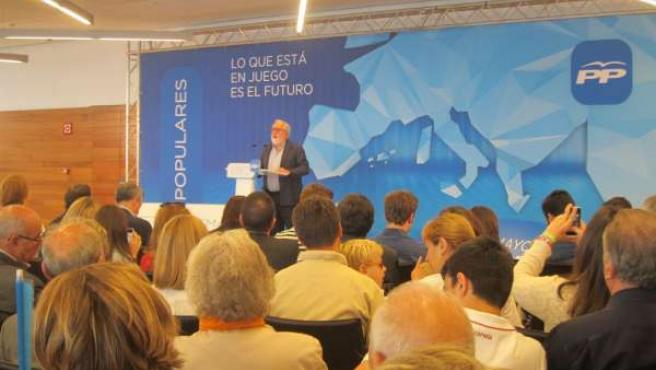 El cabeza de lista del PP en Zaragoza