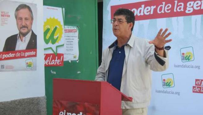 Diego Valderas, vicepresidente de la Junta y parlamentario de IULV-CA por Huelva