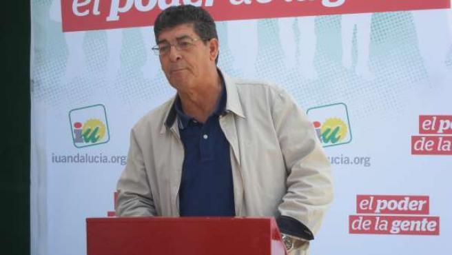 Diego Valderas, vicepresidente de la Junta.