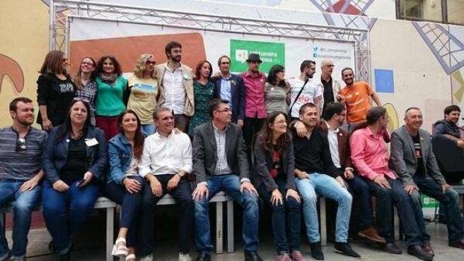 Acto de Primavera Europea Valencia