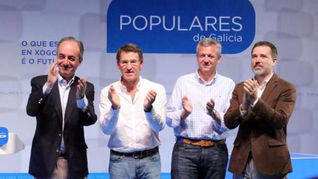 PONTEVEDRA MITING PARTIDO POPULAR EN PONTEVEDRA