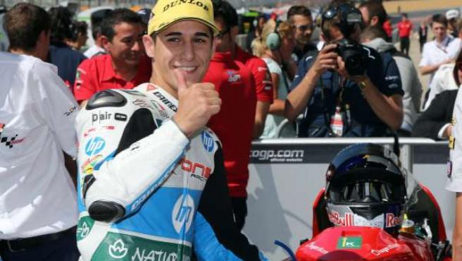 Luis Salom Moto2 Gran Premio Francia