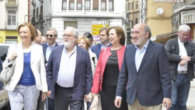 Rudi, Cañete, Lope y Aranda, en Calatayud