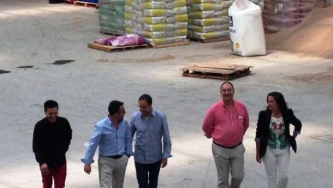 Reunión del PSOE con ASAJA
