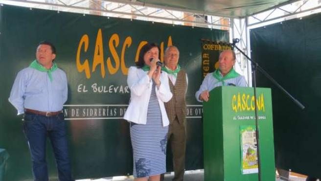 Preba de sidra en Gascona