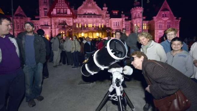 Visitas nocturnas al palacio de la magdalena