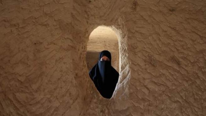 Imagen de archivo de una mujer de Arabia Saudí.