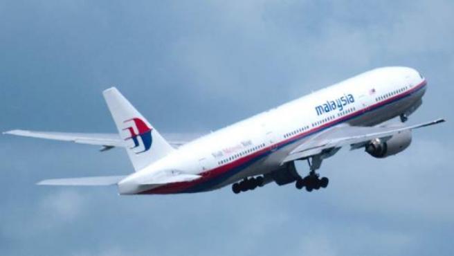 Un avión de la flota de de Malaysia Airlines.