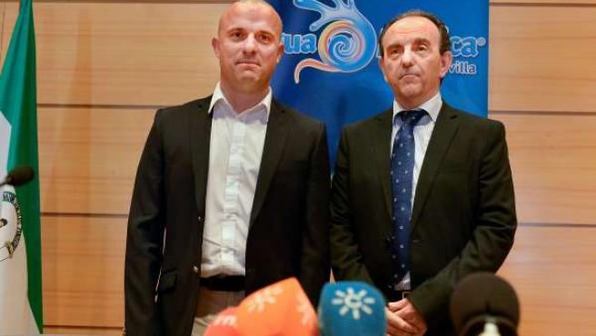 Arnaud Costé y Rafael Rodríguez.