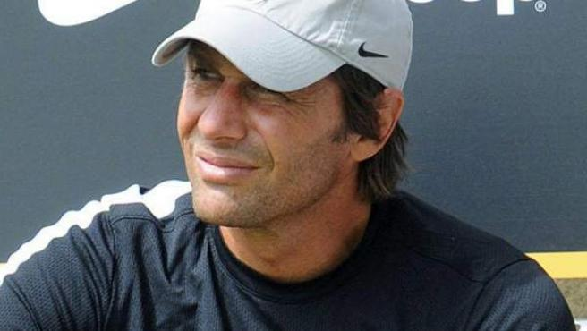 Imagen de archivo del entrenador de la Juventus, Antonio Conte.