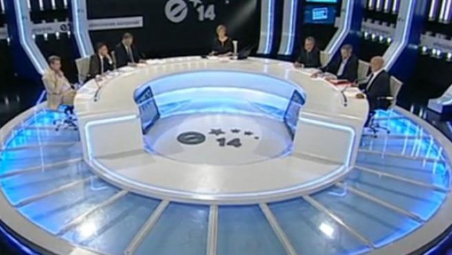 Debate a seis bandas por las Elecciones Europeas.