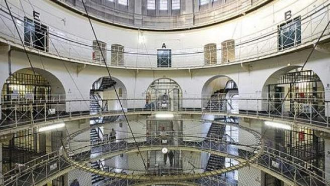 Vista del interior de la prisión de Moabit, en Berlín.