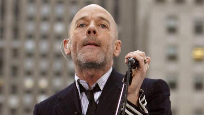 El cantante de REM, Michael Stipe, en una imagen de archivo.