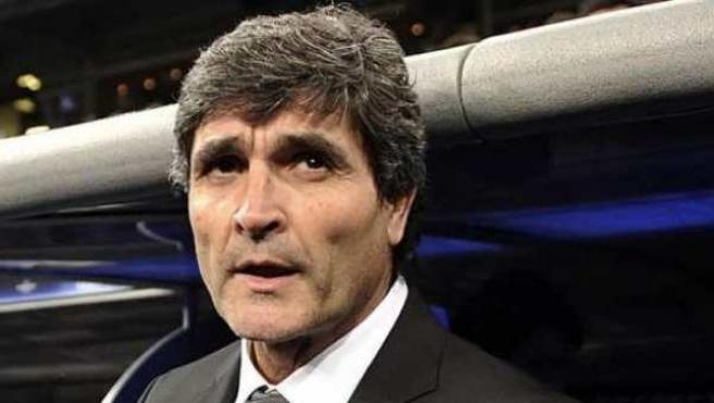 Juande, cuando era entrenador del Madrid. Archivo.